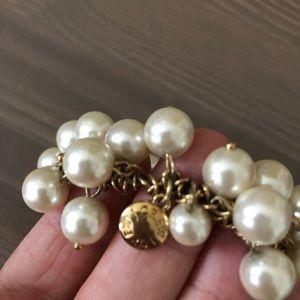 J. Crew Jewelry - ▫️ Jcrew Faux Pearl Bracelet ▫️